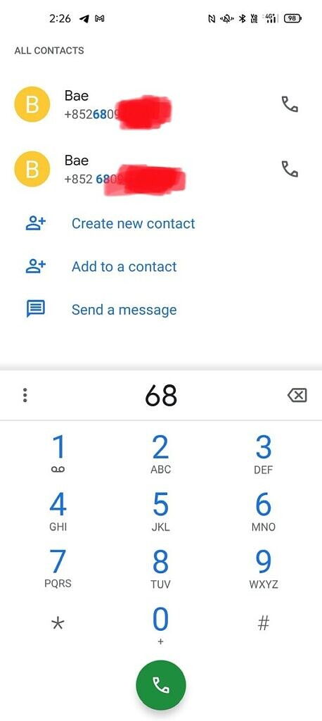 Android Predictive Dialing
