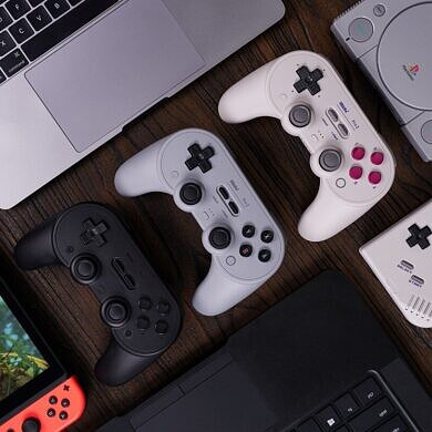 8BitDo Pro 2 controller can be reprogrammed from your phone
