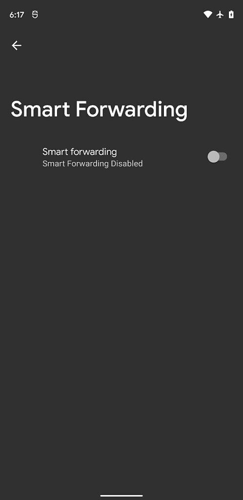 Android 12 smart forwarding