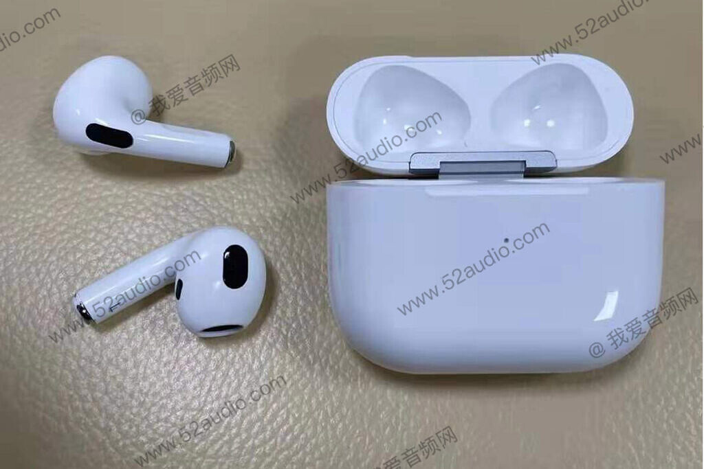 Leaked image of the Apple AirPods 3