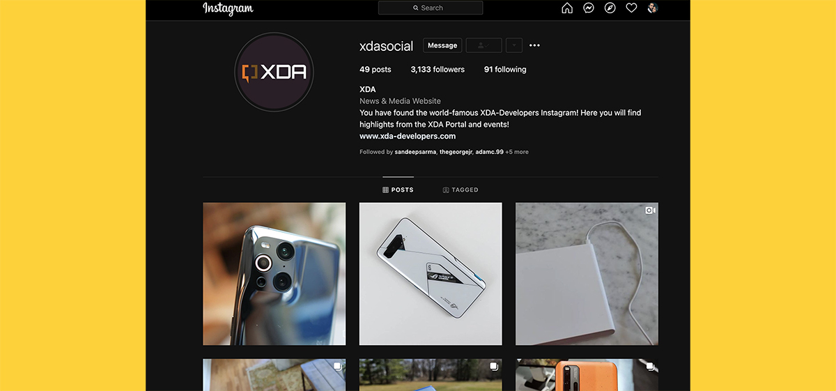 You can activate dark theme on Instagram website with a simple URL parameter - XDA Developers