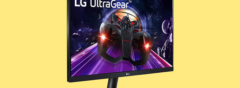 The LG UltraGear 24-inch 144Hz gaming monitor is on sale for $180