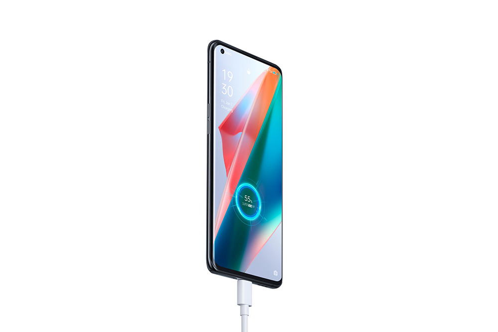 OPPO Find X3 Pro fast charging