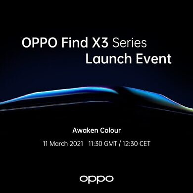 OPPO will officially unveil the Find X3 series on March 11th