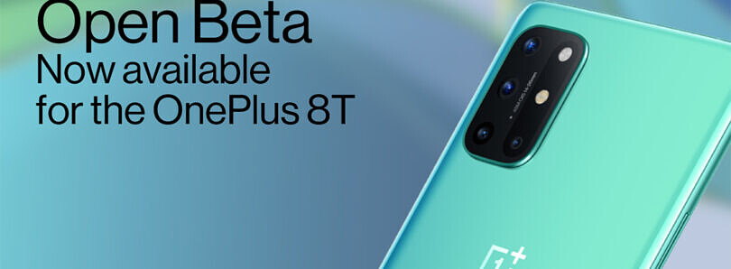 OnePlus 8T finally receives first OxygenOS 11 Open Beta release based on Android 11