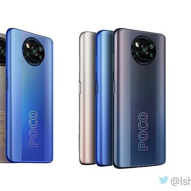 POCO X3 Pro leaked renders show off a familiar figure for the company's next smartphone