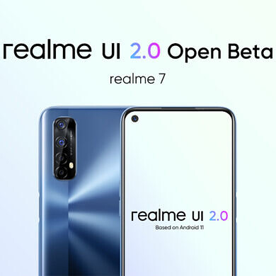 Realme 7 gets its first Realme UI 2.0 Open Beta build based on Android 11