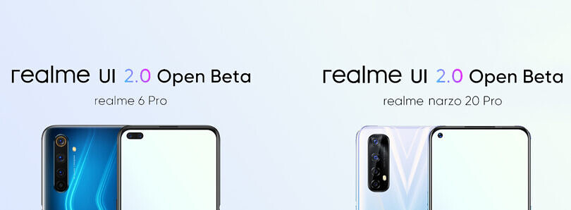 Realme UI 2.0 Open Beta based on Android 11 is now available for the Realme 6 Pro and Narzo 20 Pro