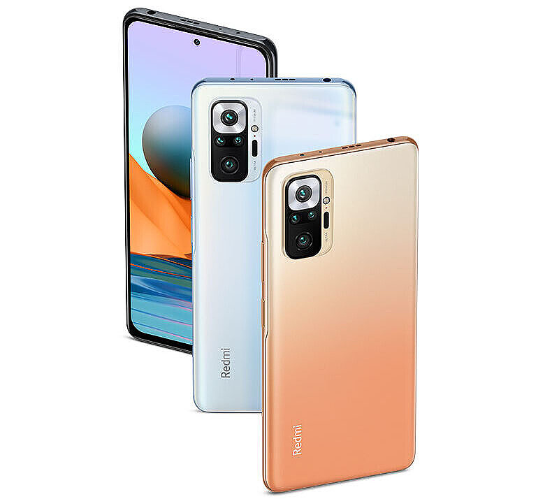 Redmi Note 10 Pro in two colors