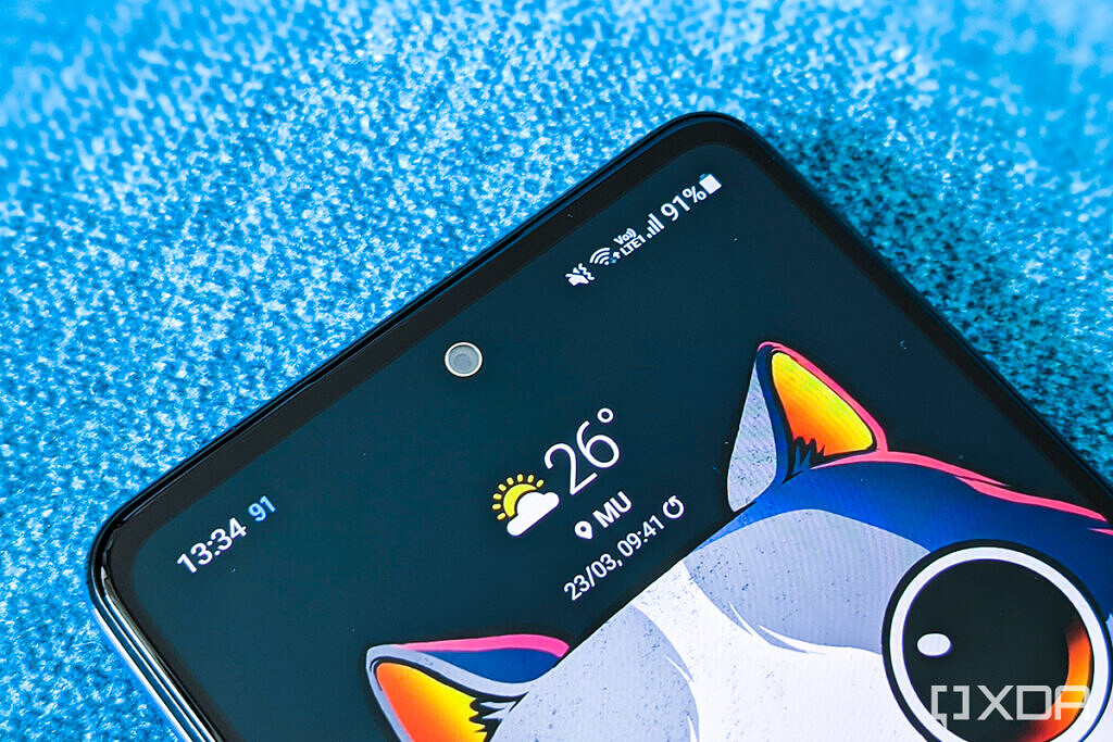 Samsung Galaxy A52 review Awesome blue 6GB 128GB