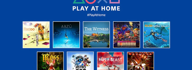 Sony's Play at Home 2021 event will offer several games for free on March 25