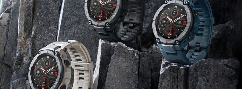 Amazfit T-Rex Pro is a new smartwatch with a rugged build and 10 ATM water resistance