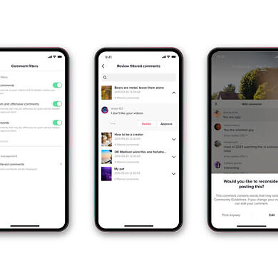 TikTok announces new tools to combat online harassment and bullying