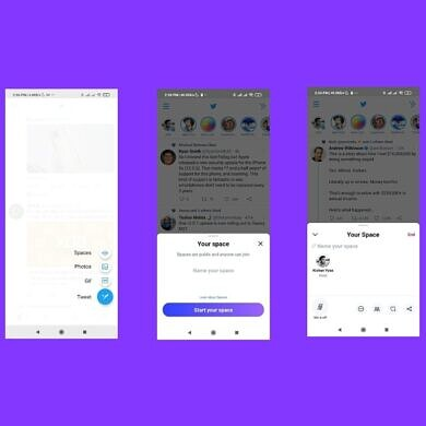 Twitter for Android is starting to let some users host their own Spaces
