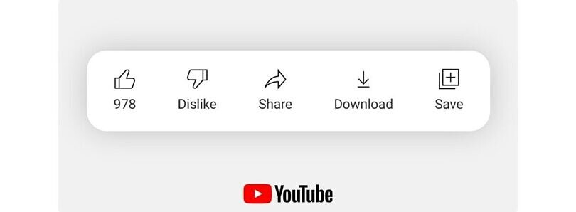 YouTube tests hiding the dislike count on some videos