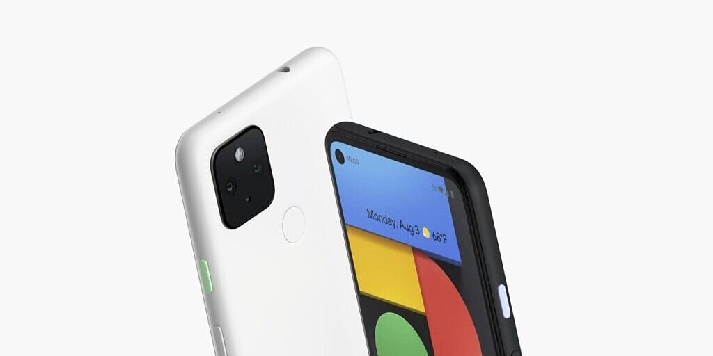 Pixel 4a in white