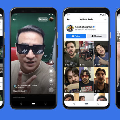 Facebook tests letting Instagram influencers surface their Reels to the Facebook app