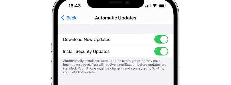 Apple could soon deliver iOS security updates independent from other updates