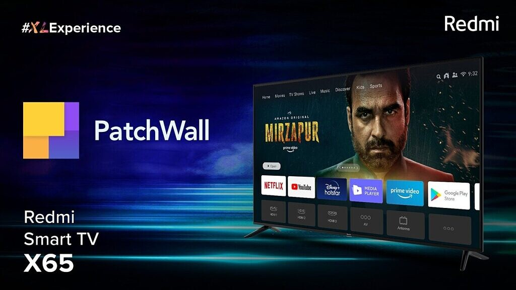 redmi tv patchwall