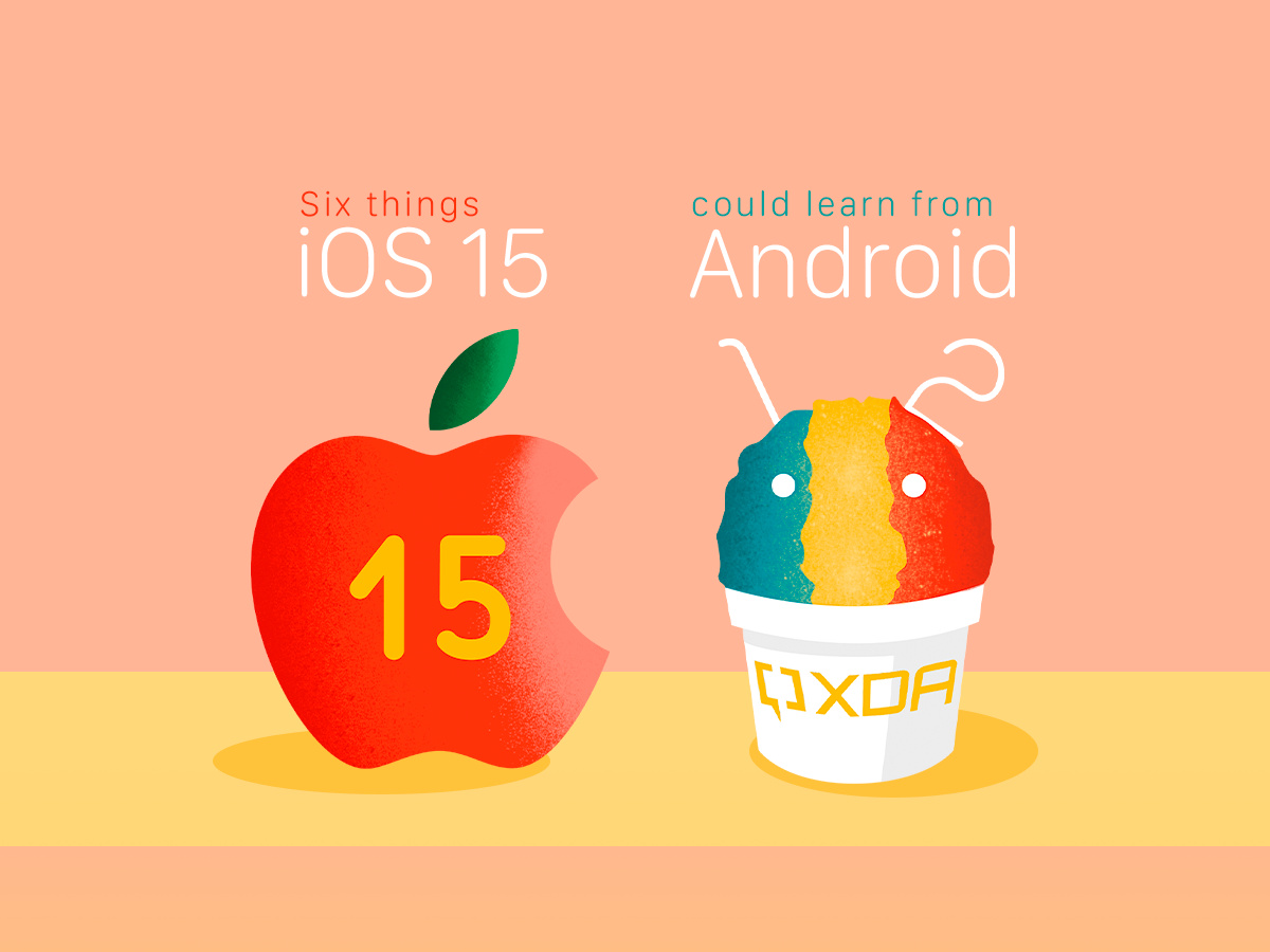Here are six things iOS 15 could learn from Android 12
