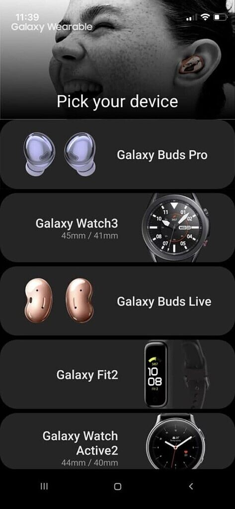Samsung Wearables in iTest