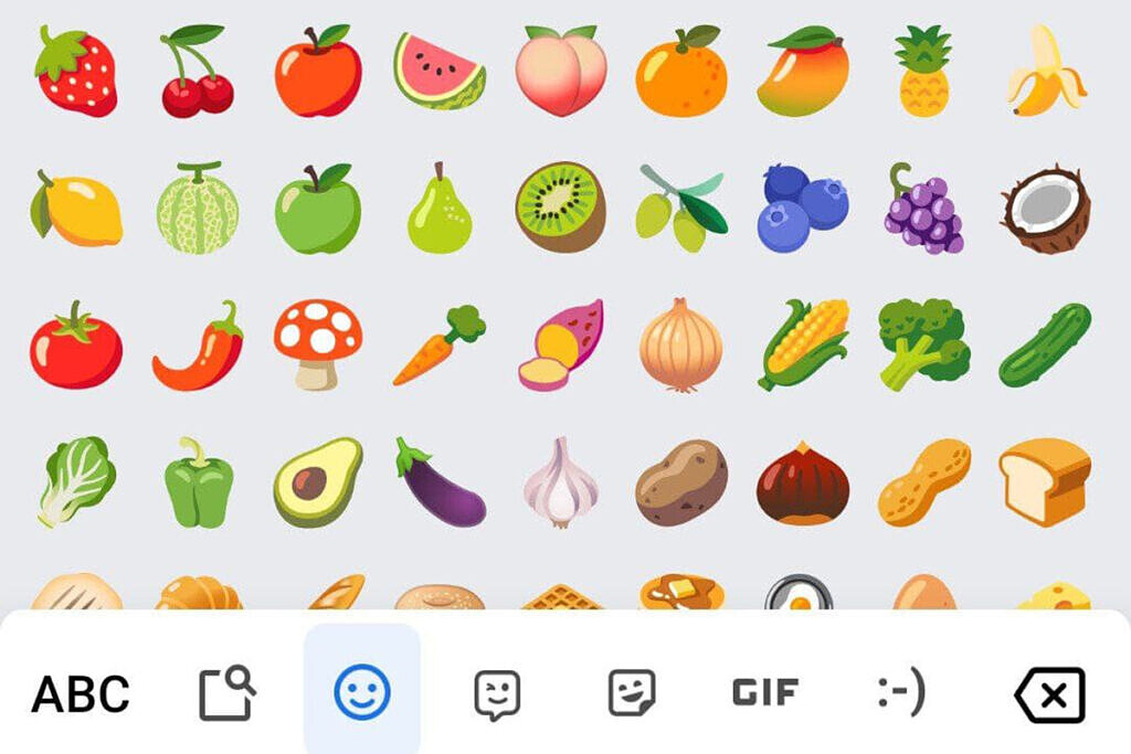 Android 12 emoji with RKBD Magisk module