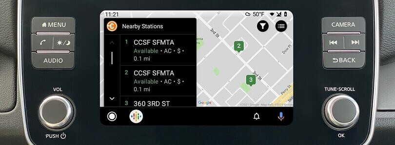 ChargePoint's new Android Auto app will help you find nearby EV charging stations