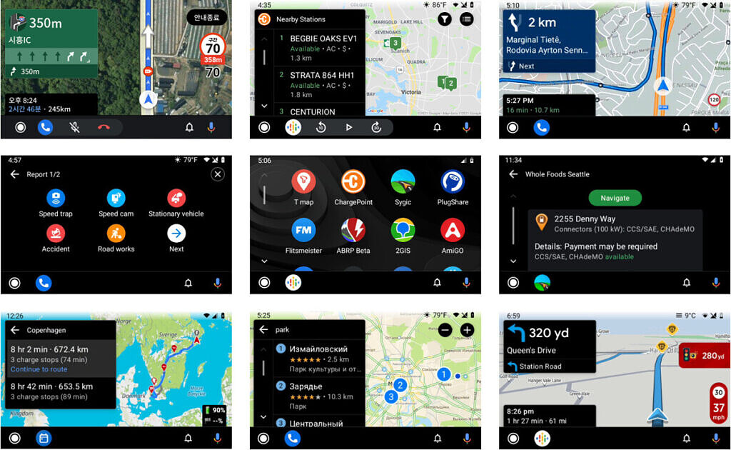 Android Auto third-party apps