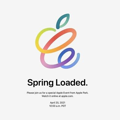 Apple schedules 'Spring Loaded' event for April 20