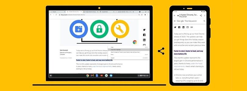 Google introduces new Chrome features to boost your productivity