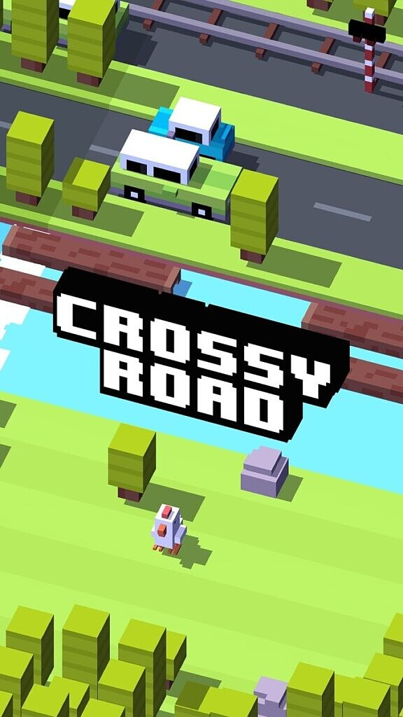 Crossy Road - intro