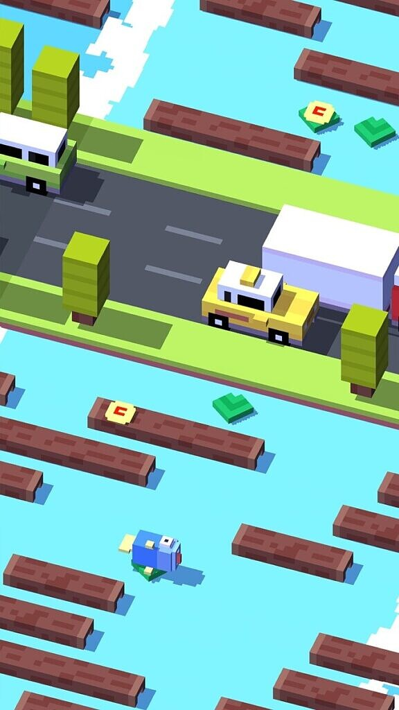 Crossy Road -water