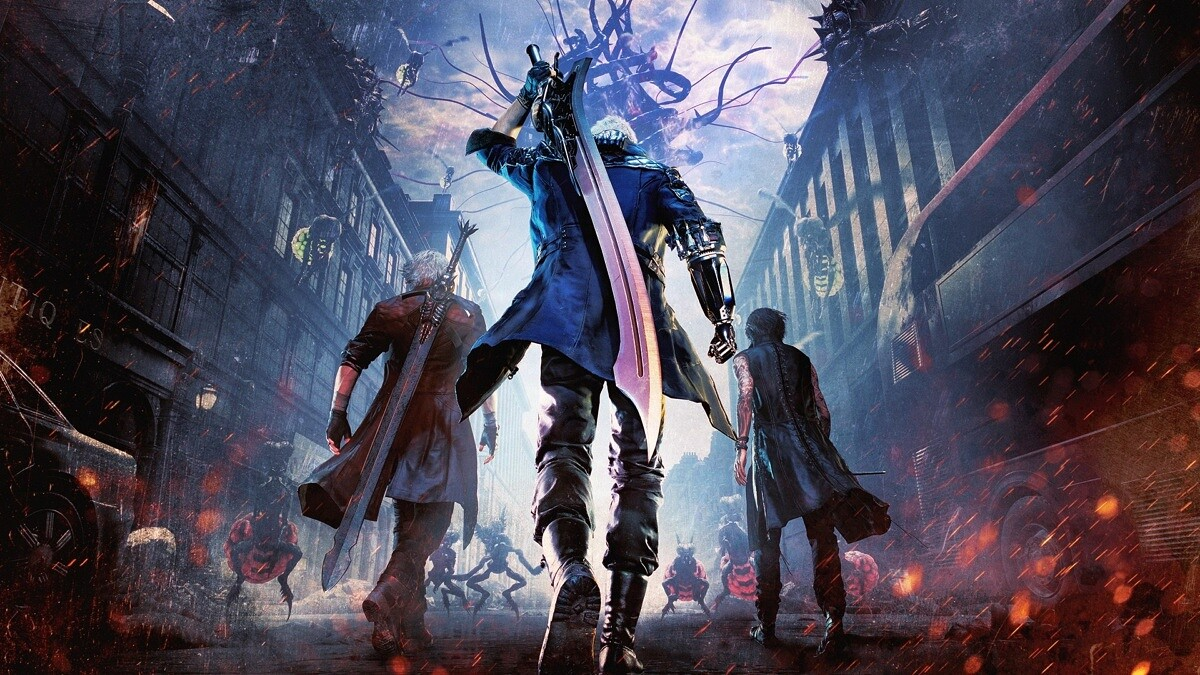 devil may cry 5 - heroes