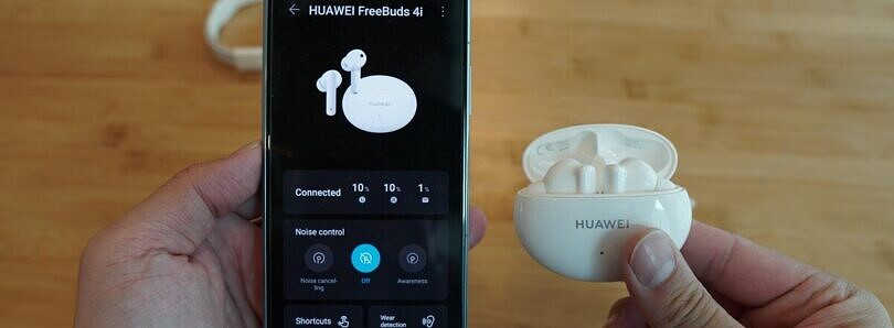 Hands-on with the Huawei FreeBuds 4i