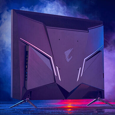 Gigabyte Aorus unveils new 4K gaming monitors, including a 48-inch OLED with HDMI 2.1