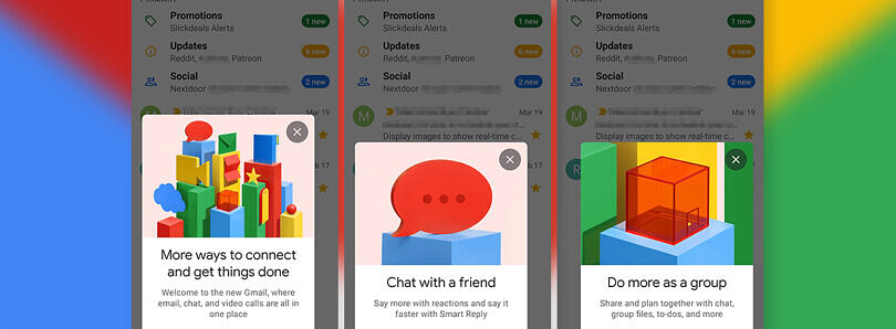 Gmail is rolling out Chat integration for personal Google accounts