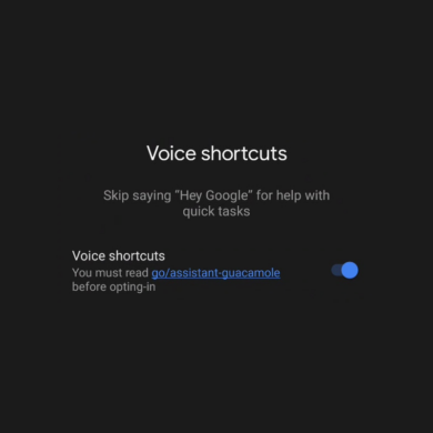 """Google Assistant may add Voice Shortcuts that don't need """"Hey Google"""" to activate"""