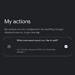 "Google App preps ""My Actions"" to help you create shortcuts for your favorite commands"
