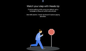 """Google starts rolling out """"Heads Up"""" in Digital Wellbeing to stop distracted walking"""