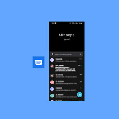 Google Messages is getting a slick One UI-esque design on Samsung phones