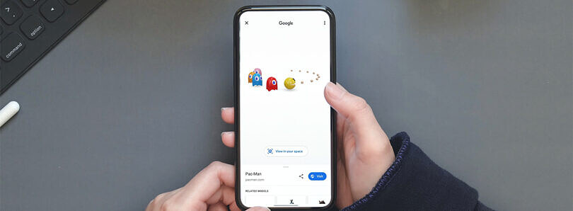 Google Search now shows Pac-Man, Ultraman, Hello Kitty, and other iconic anime characters in AR