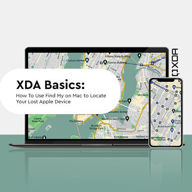 XDA Basics: How to use Find My on Mac to Find your Lost Apple Device