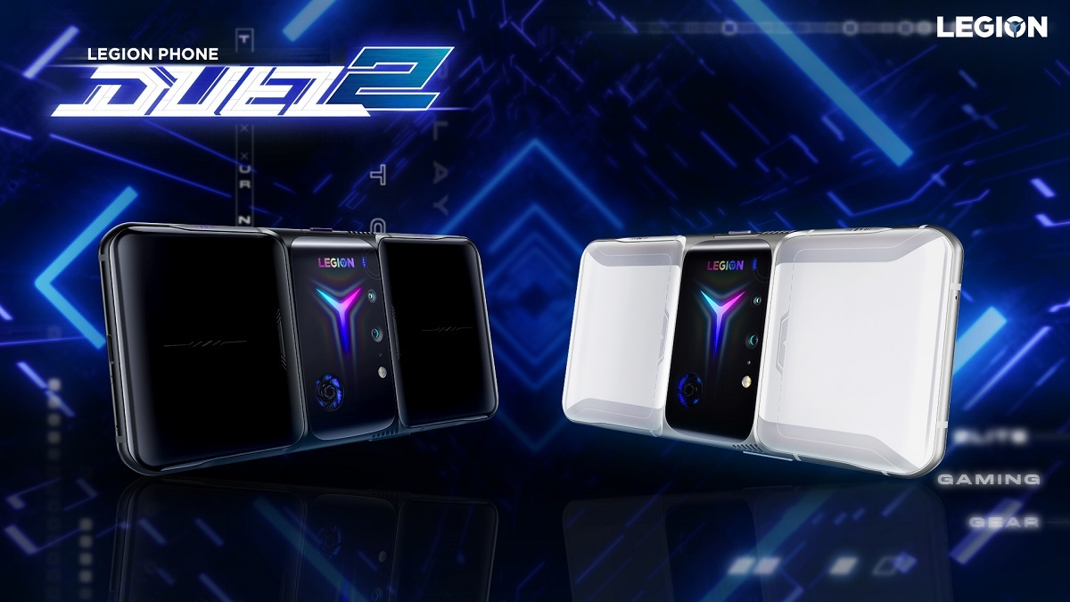 Lenovo officially launches Legion Phone Duel 2 gaming phone