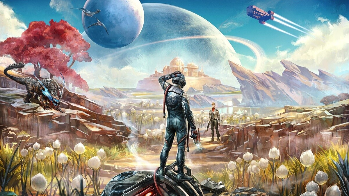outer worlds - planets