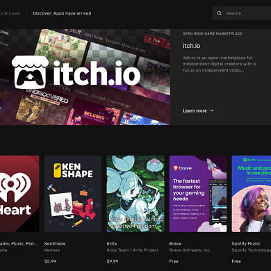 The Epic Games Store now has more than just games