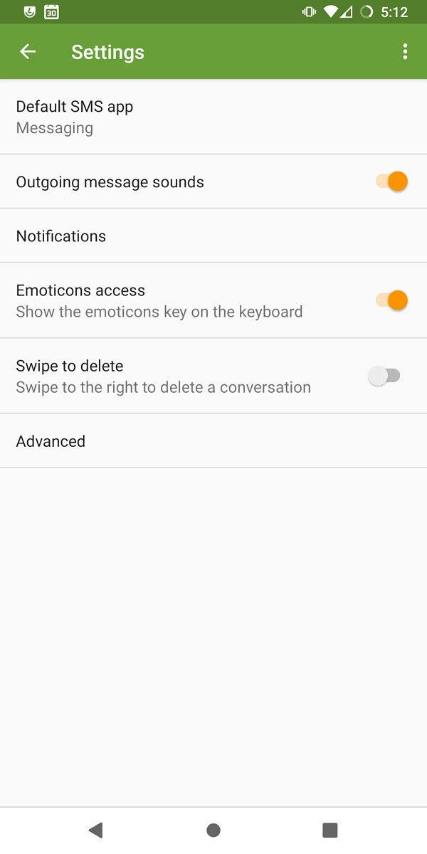 Messaging app on LineageOS 18.1