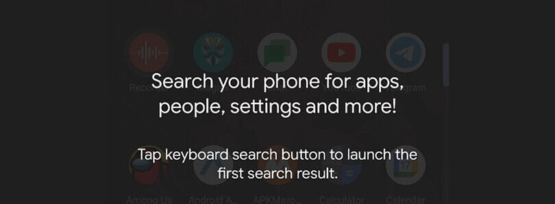 Android 12 adds a new device search API for third-party launchers