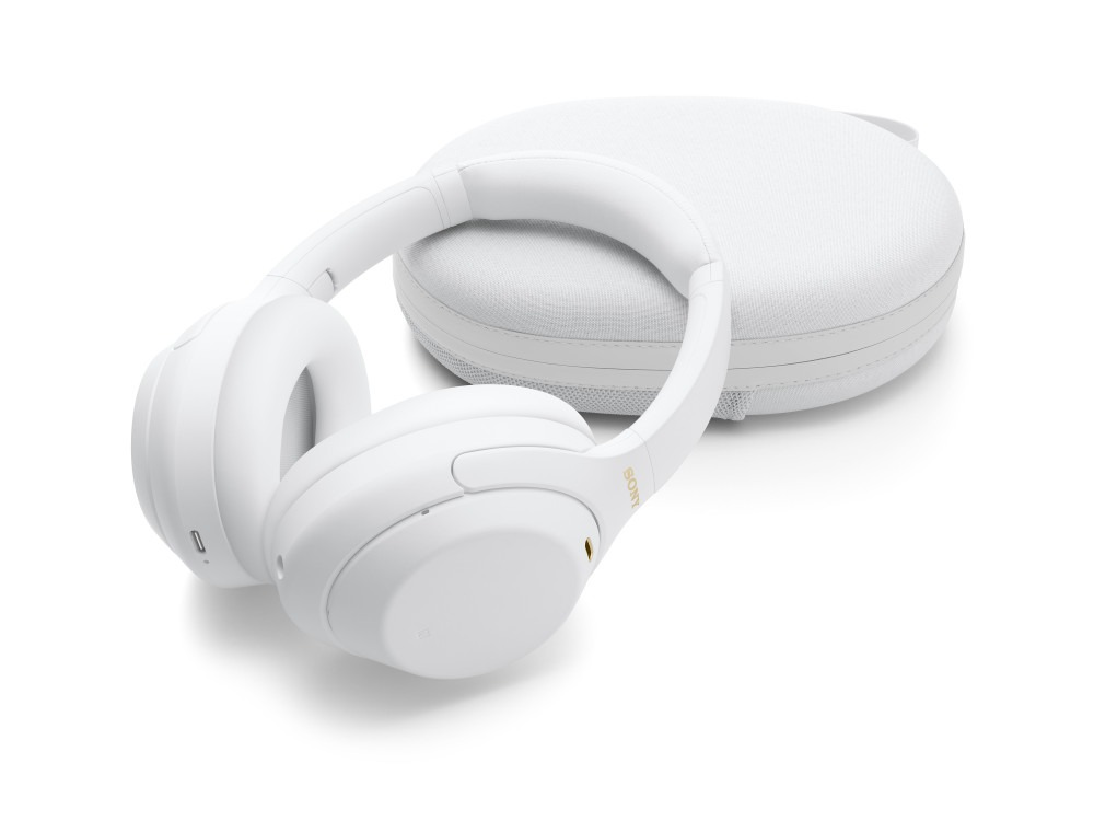 Sony WH-1000XM4 Silent White product