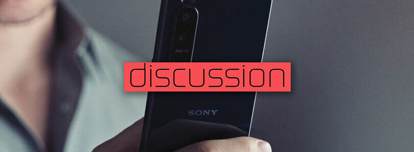 Does Sony need to follow trends for its smartphones to stay relevant?