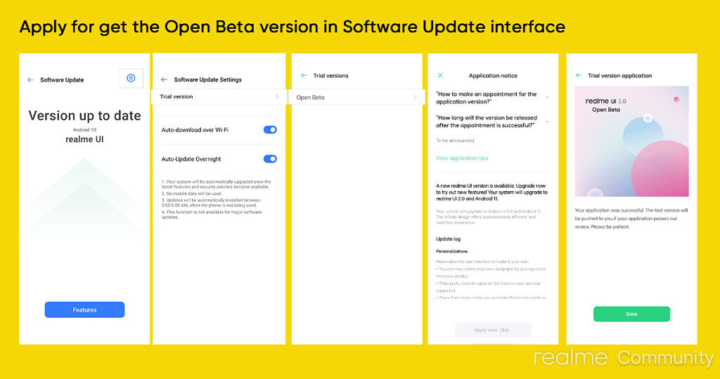 Steps to apply for Realm UI 2.0 Open Beta